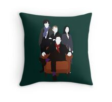 Consulting Detectives - Sherlock/Elementary Throw Pillow