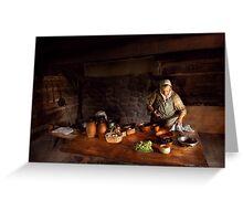 Kirchen - Farm cooking Greeting Card