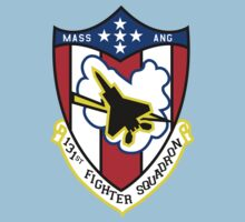 131st Fighter Squadron Emblem ( F-15 ) Kids Clothes