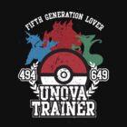 5th Generation Trainer (Dark Tee) by ZandryX