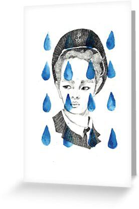 In Rain or SHINee; illustration by Julia Major