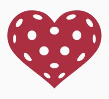 Floorball red heart by Designzz