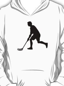 Floorball Player T-Shirt