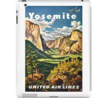 Yosemite iPad Case/Skin