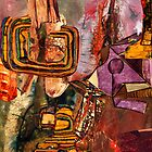 Abstract Abstraction ~ Madonna with Christ Child. by - nawroski -