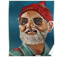 Steve Zissou :: The Life Aquatic Inspired Fan Art Poster