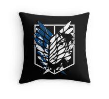Eren Jaeger Scouting Legion (Attack On Titan) Throw Pillow