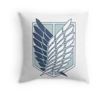 Shingeki no Kyojin Survey Corps Logo / Symbol Throw Pillow