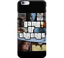 grand game of thrones  iPhone Case/Skin