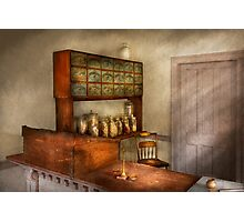 Pharmacy - The herbalist Photographic Print