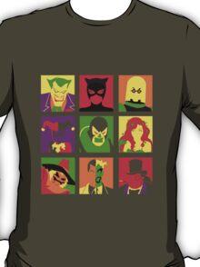 Villain Bat PopArt T-Shirt
