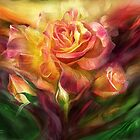 Birth Of A Rose by Carol  Cavalaris