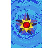 Starmie Vector Artwork Photographic Print