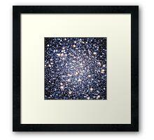 Star Pattern | Mathematix by Sir Douglas Fresh Framed Print