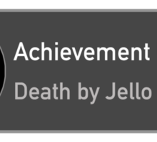 Gelatinous Cube Achievement  Sticker
