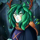 Huntress Wizard, Unmasked. by lythweird