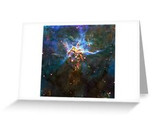 Expanse of God's Universe | Galaxy Mathematix Greeting Card