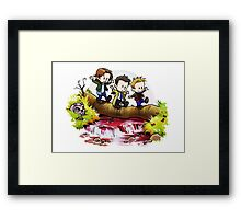 Team Free Will Goes Exploring Framed Print