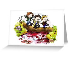 Team Free Will Goes Exploring Greeting Card