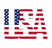 USA - Stars & Stripes, American Flag Design by BeachBumPics