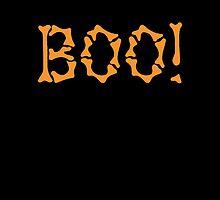 Boo! in bones Halloween treat  by jazzydevil