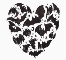 Bat Heart T-Shirt