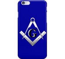 Freemasonry symbol iPhone Case/Skin
