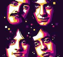 LED ZEPPELIN by Fikri Hamzent