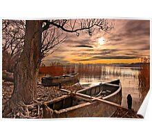 Dreaming of leaving - Petron lake, Florina Poster