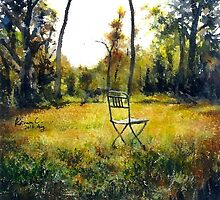 Sunlight & Chair by Keiran Chang