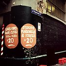 Degraves lane Melbourne by Melinda  Ison - Poor