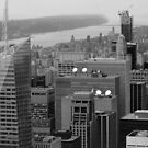 New York Black and White, Empire State Building Views by Prettyinpinks