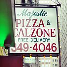 Pizza Bar, Lower Manhattan by Melinda  Ison - Poor
