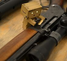 Danbo goes to war by stretchermonkey