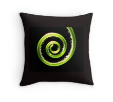 A Tendril Moment Throw Pillow