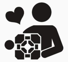 Companion cube love - Portal by Cramer