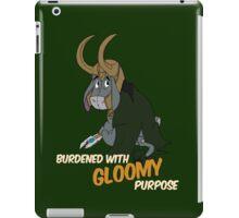 Burdened With Gloomy Purpose iPad Case/Skin