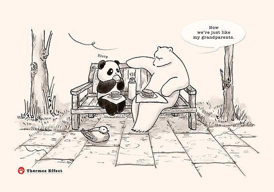 Thermos Effect by Panda And Polar Bear