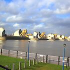 Thames Barrier - London savior  by Arvind Singh