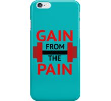 No Pain, No Gain. iPhone Case/Skin