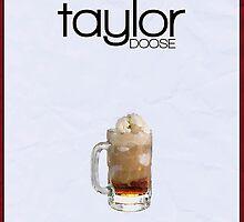 Gilmore Girls minimalist poster, Taylor Doose by hannahnicole420