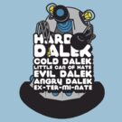 Hard Dalek Cold Dalek New Design (Grey/Blue) by B4DW0LF