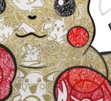 Pikachu Doodle  Sticker
