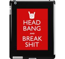 Head Bang iPad Case/Skin