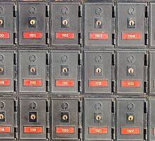 Australian post office boxes by Nils Versemann