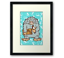 Köpke Chara Collection - Yeti Framed Print