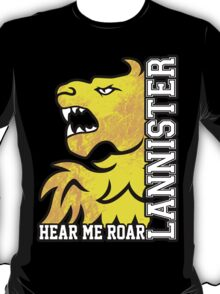 Team Lannister Vertical  T-Shirt