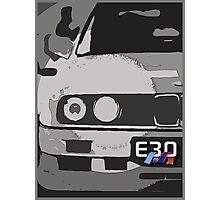E30 with M Ribon Photographic Print
