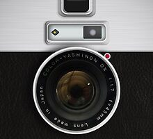 Vintage Camera - for Samsung Galaxy by BGWdesigns
