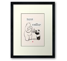 Happy Birthday for you! Framed Print